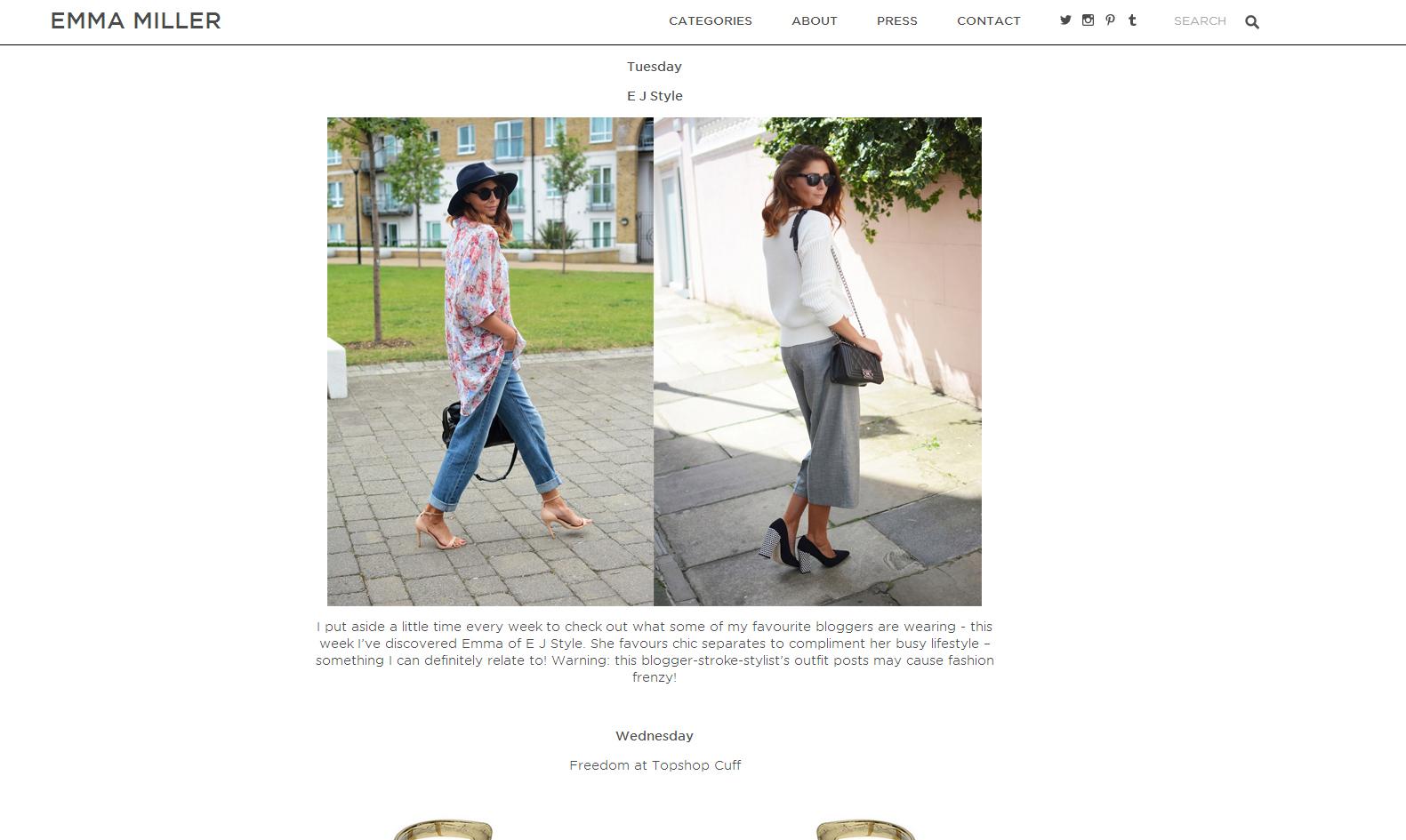 Emma Miller blog
