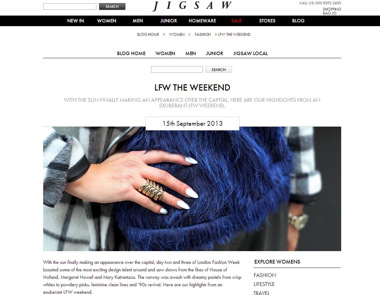 Jigsaw LFW Feature 2