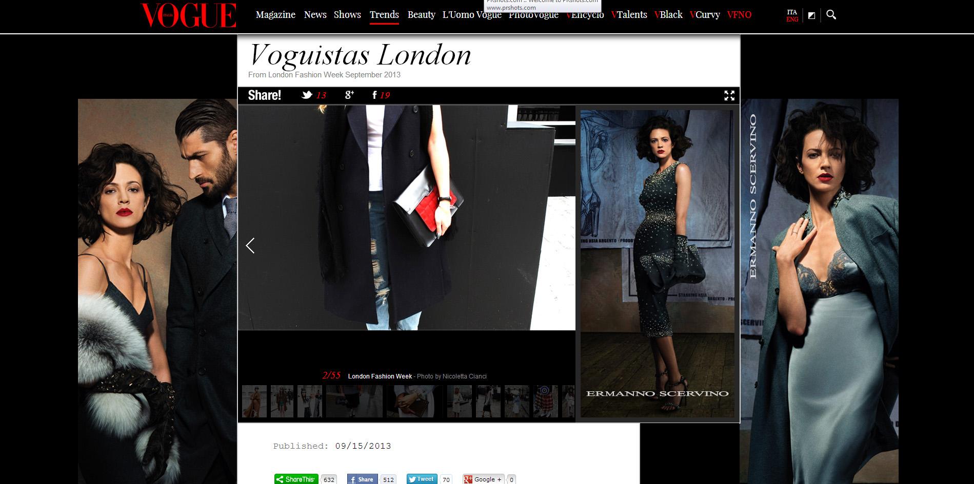 LFW Feature Vogue Italia