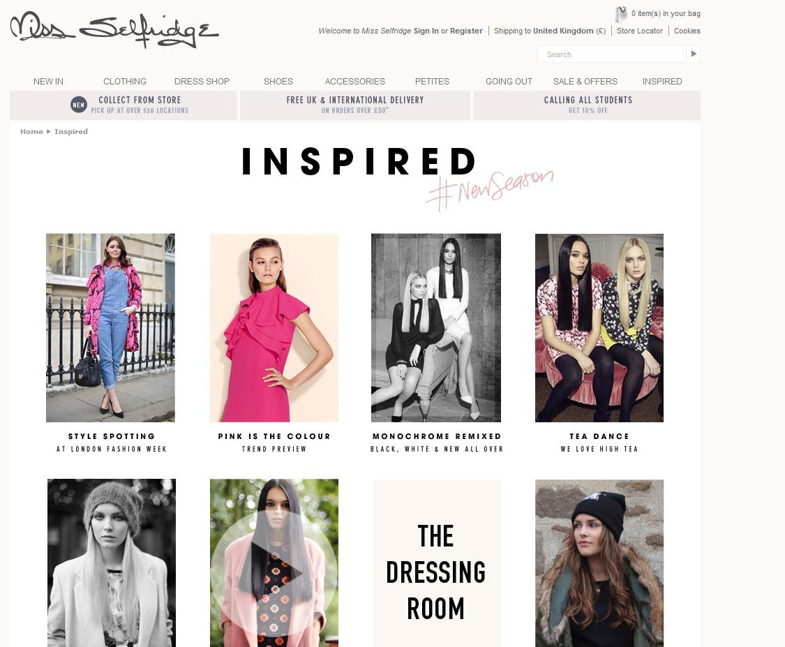 Miss Selfridge Inspired LFW Street style Feb 14