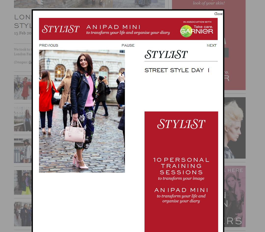 Stylist day 1 LFW Feb 14