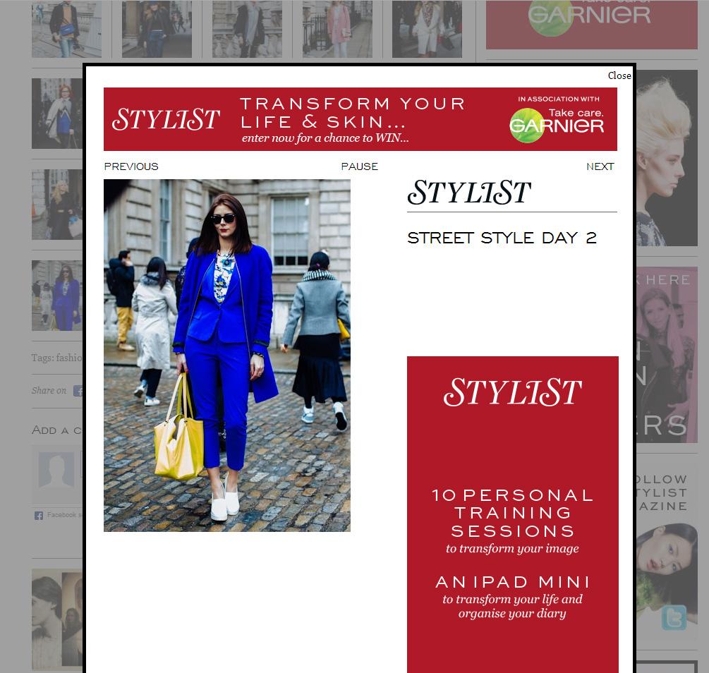 Stylist day 2 LFW Feb 14