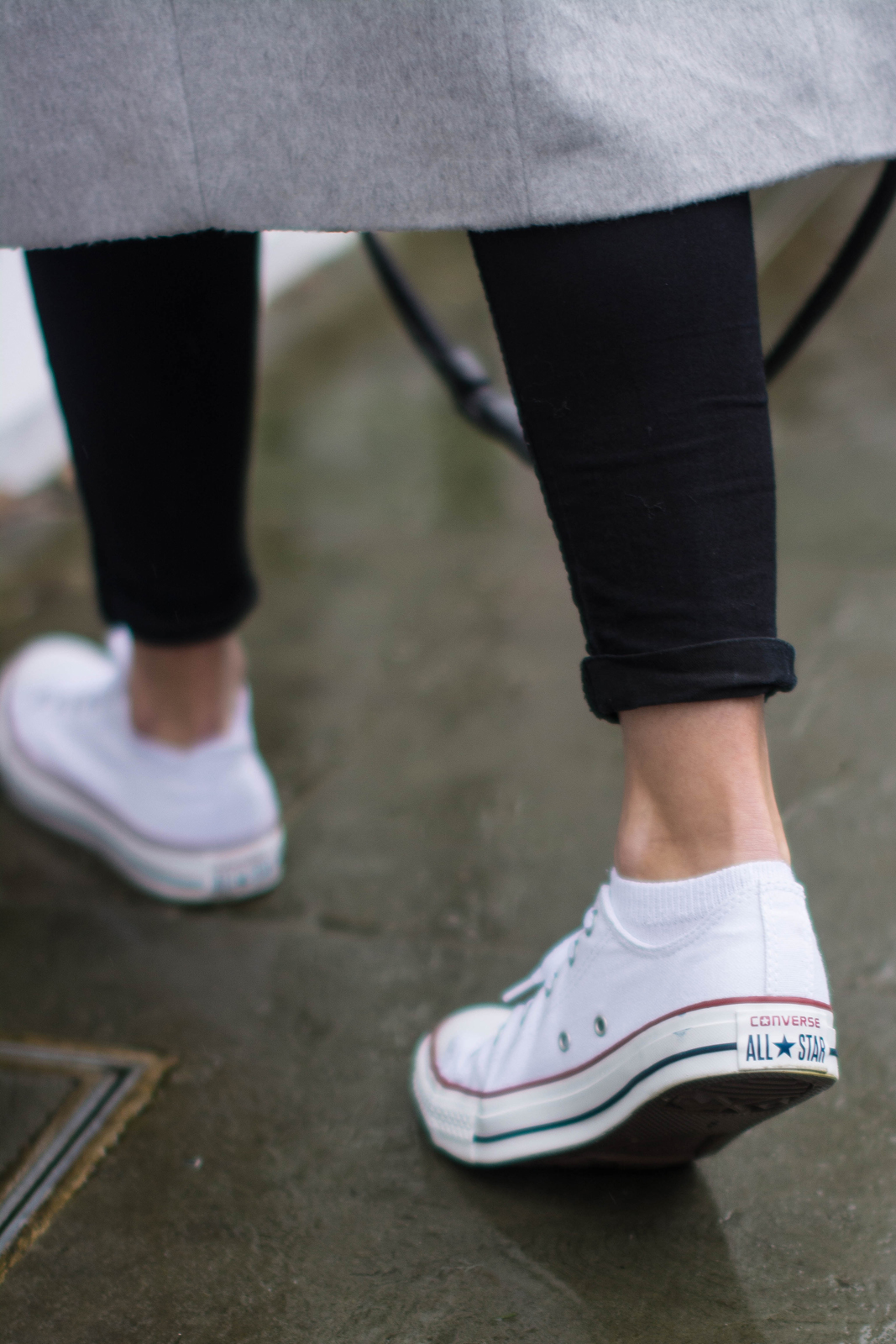 EJSTYLE - Emma Hill, Converse low chuck taylor white, fashion blogger