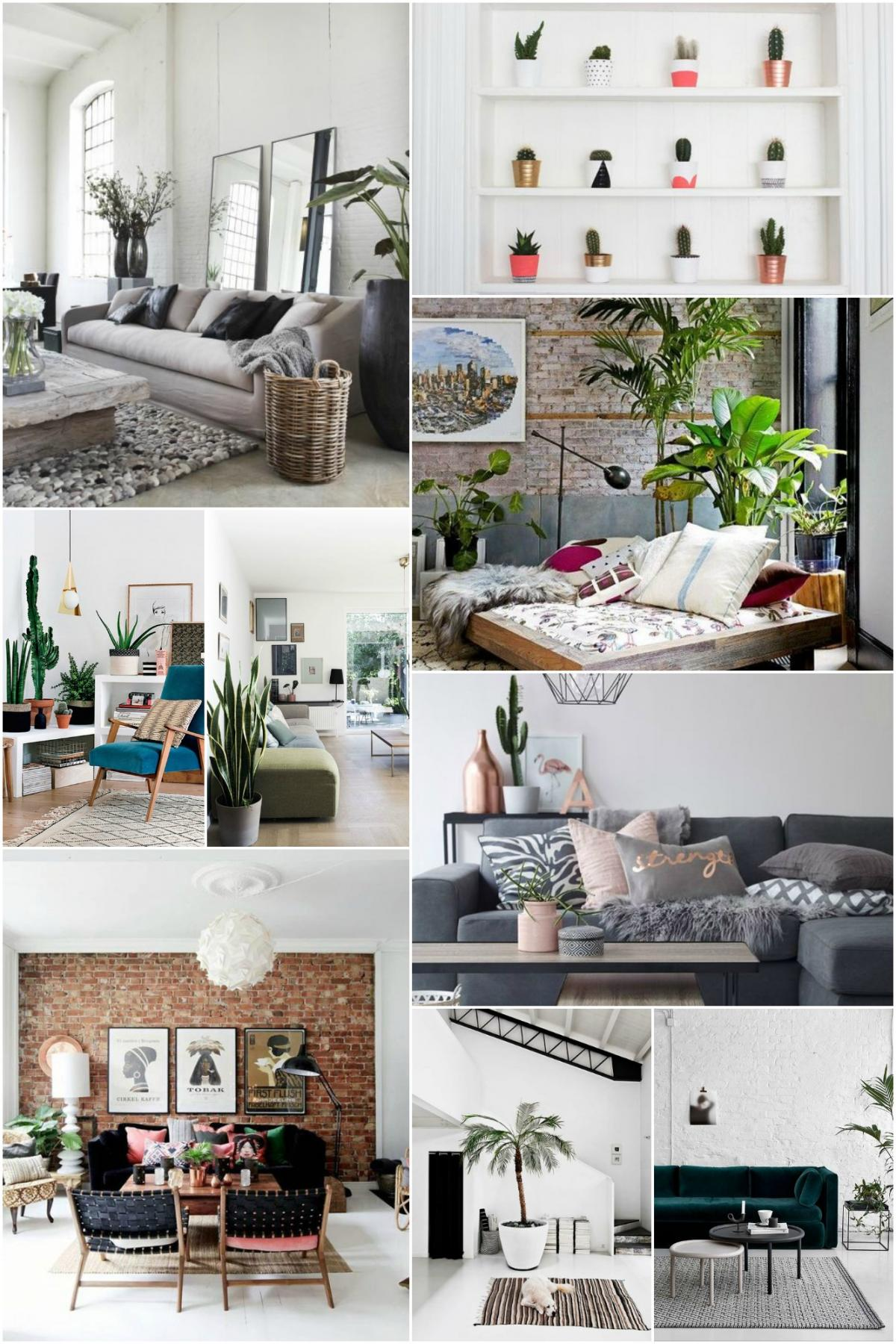 Home Trend- LA Cool Living Area Mood Board