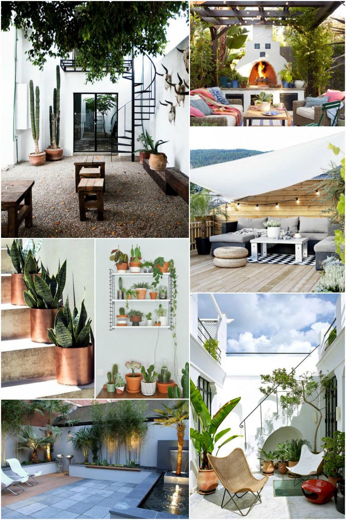 Home Trend- LA Cool Garden Mood Board