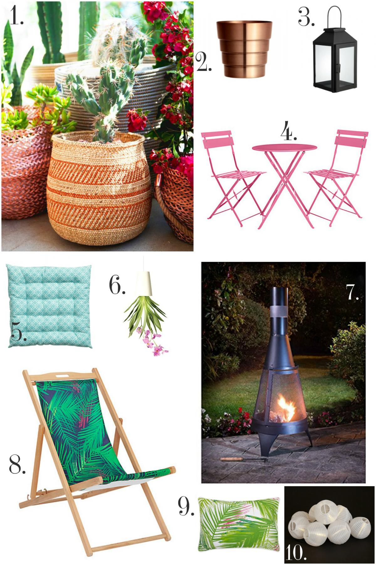 Home Trend- LA Cool Garden products