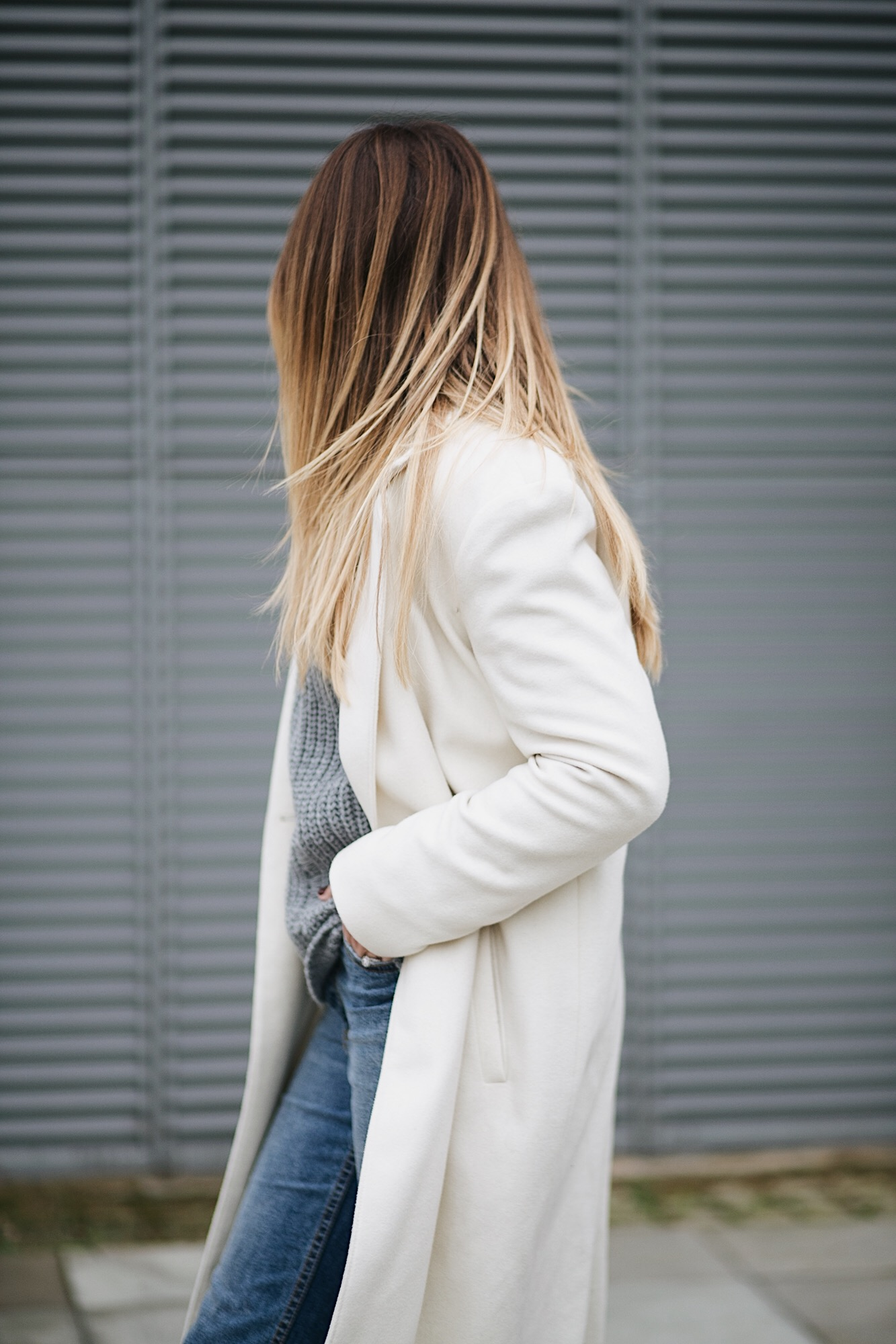 white coat, winter outfit