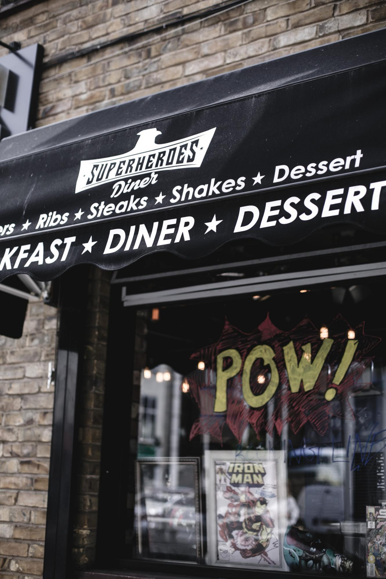EJ Eats | Superheros Diner Whitechapel London Review