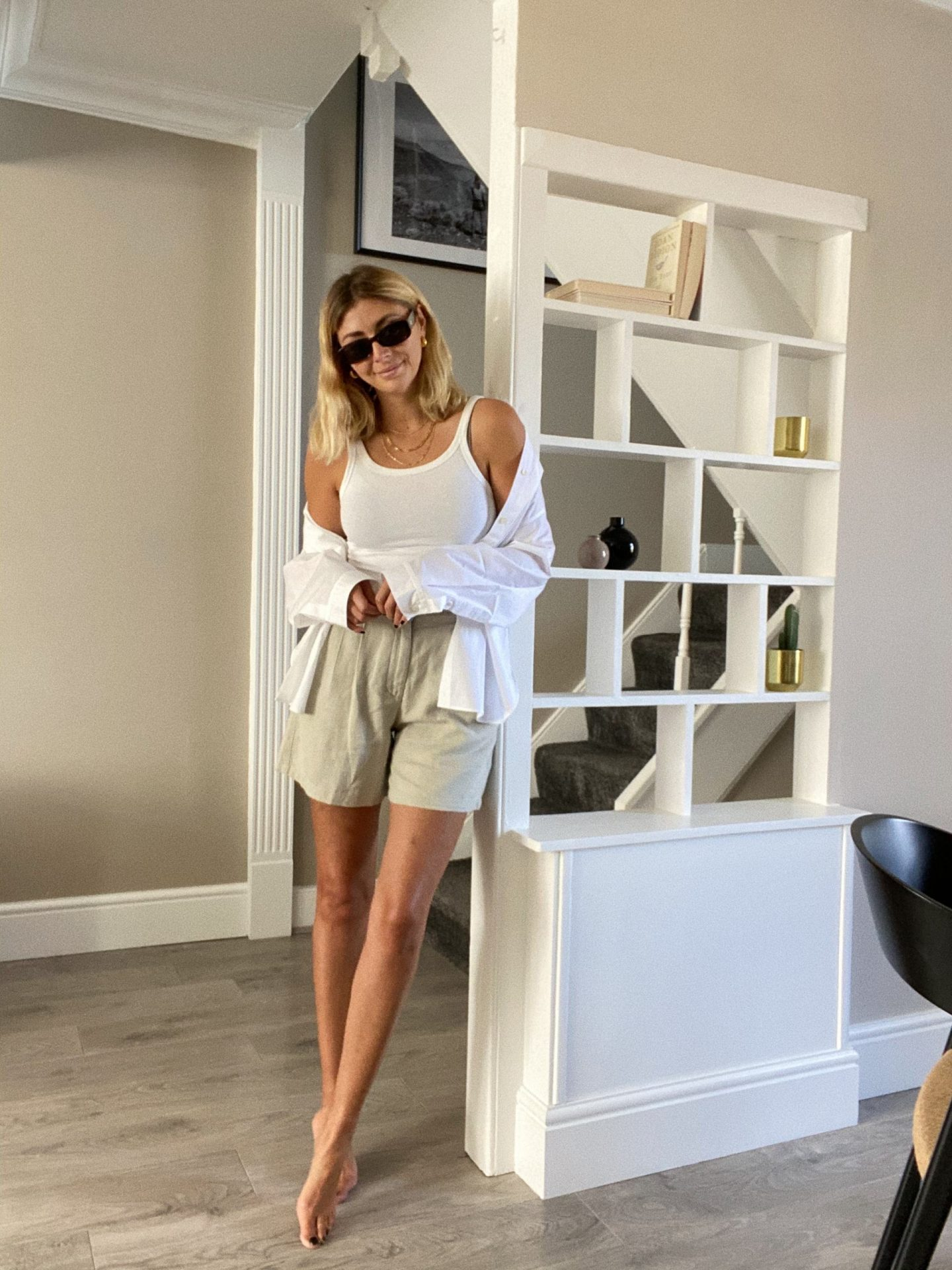 Emma Hill Style, Summer linen outfit