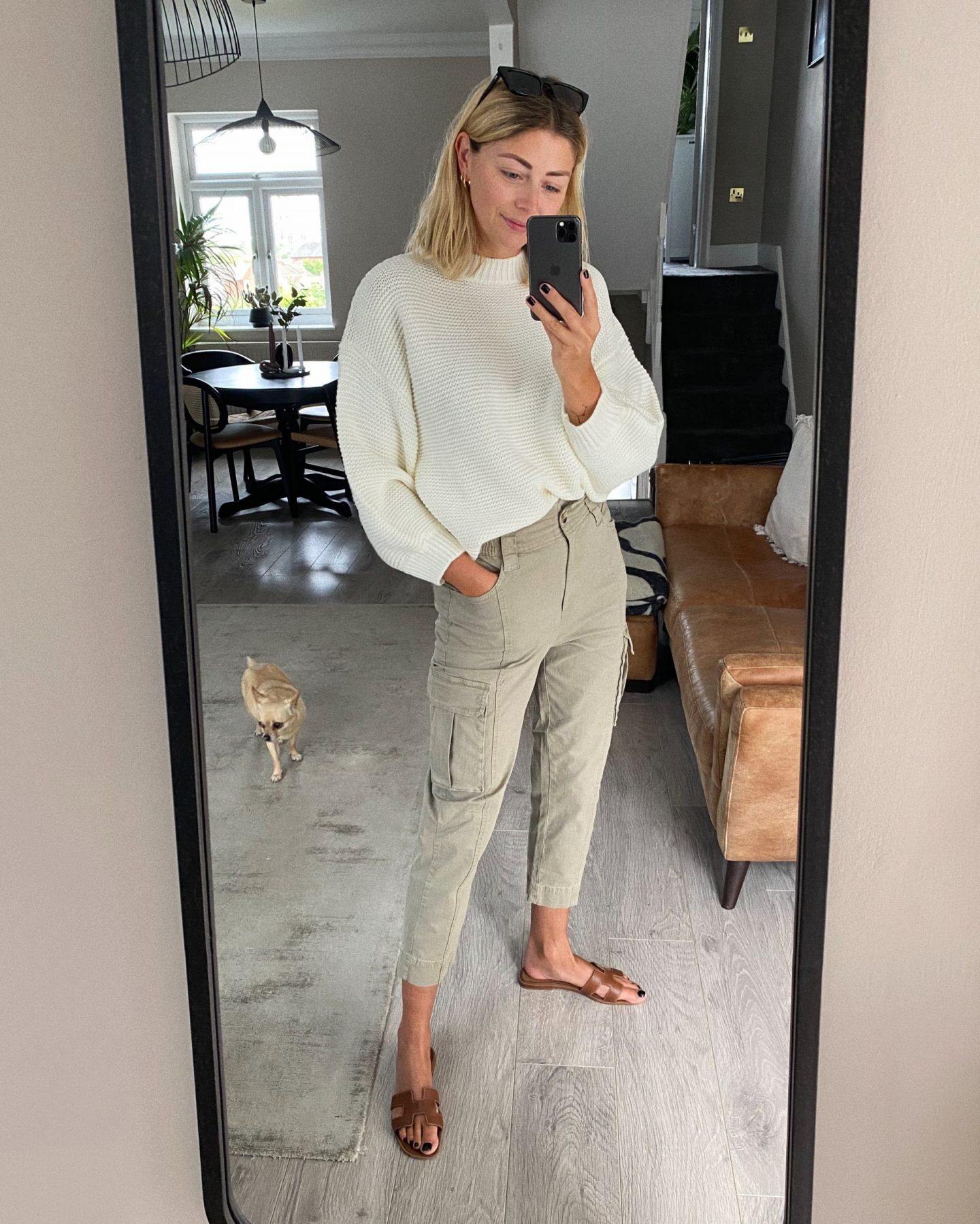 Emma Hill casual spring summer style outfit