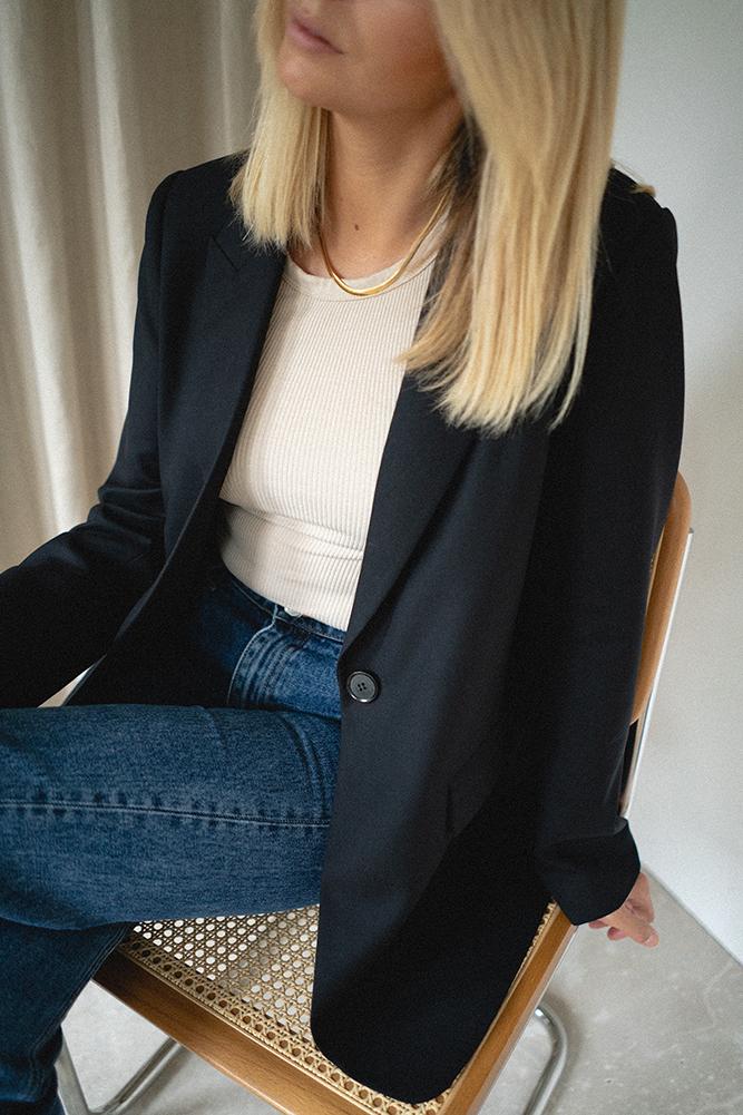 Emma Hill x The Curated Blazer blog